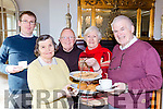 Eoin Reen, Kathleen O'Shea, Br Sean, Sue McDonough and Pat Delaney supporting the annual Diabetes Coffee Morning at the Royal Hotel on Friday morning.