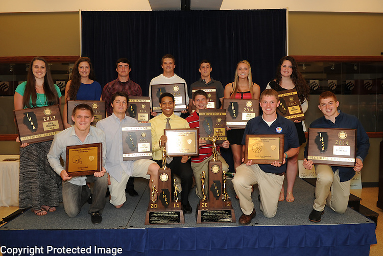 2013-2014 ICCP Athletic Awards