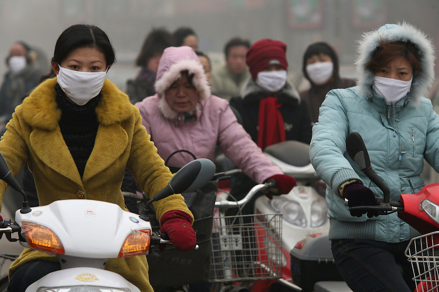 China pollution cars cause major air problems in chinese cities