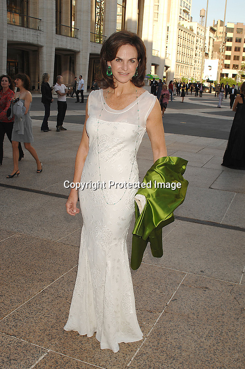 Sandy Pittman..arriving at The Metropolitan Opera House for the ...