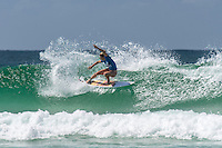 COOLANGATTA, Queensland/Australia (Tuesday, March 3, 2015) Coco Ho (HAW). - Round 2 of the  Roxy Pro Gold Coast was held today. The event got underway today at 11.30 a.m. local time after being put on hold twice during the morning.<br /> <br /> Stephanie Gilmore (AUS)  competed in Round 2 today and advanced to Round 3 after defeating wildcard Bronte MacAulay (AUS) in a close surfed heat..<br /> Tyler Wright  (AUS) also advanced to Round 3 after winning her heat against Alessa Cuzion (HAW)<br /> -  Photo: joliphotos.com