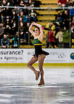 10 February 2017: A member of the University of Vermont Ice Cats entertains the fans prior to a game against the University of New Hampshire Wildcats at Gutterson Fieldhouse in Burlington, Vermont. The Catamounts fell to the Wildcats 4-2 in the first game of their 2-game Hockey East Series. Mandatory Credit: Ed Wolfstein Photo *** RAW (NEF) Image File Available ***