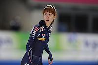 SCHAATSEN: BERLIJN: Sportforum, 06-12-2013, Essent ISU World Cup, 500m Ladies Division B, Hyun-Yung Kim (KOR), ©foto Martin de Jong
