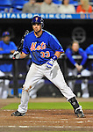 5 March 2012: New York Mets infielder Vinny Rottino in action during a Spring Training game against the Washington Nationals at Digital Domain Park in Port St. Lucie, Florida. The Nationals defeated the Mets 3-1 in Grapefruit League play. Mandatory Credit: Ed Wolfstein Photo