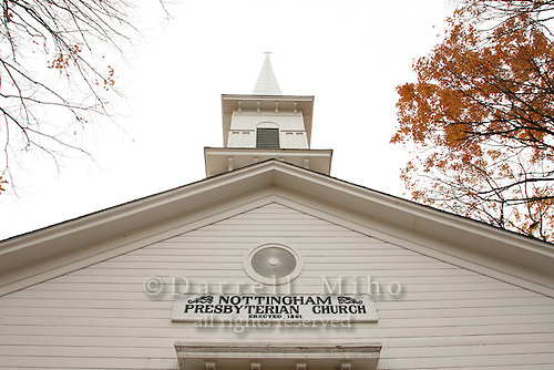 Nov. 02, 2008; Nottingham, OH - Nottingham Presbyterian Church built in 1861..Photo credit: Darrell Miho