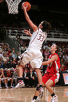 STANFORD, CA - NOVEMBER 20:  Jillian Harmon of the Stanford Cardinal during Stanford's 84-46 win over the University of New Mexico on November 20, 2008 at Maples Pavilion in Stanford, California.