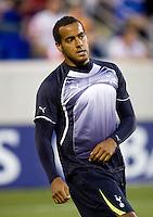 Tom Huddlestone. Tottenham defeated the New York Red Bulls, 2-1.