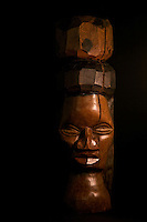 African Wood Carvings, photos by Brian Cleary
