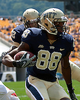 Pitt wide receiver Oderick Turner. The Pittsburgh Panthers defeated the Youngstown State Penguins 38-3 at Heinz Field on September 5, 2009.
