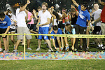 The World's Largest Water Balloon Fight put on by the Christian Student Fellowship on the Johnson Center Fields at the University of Kentucky on Aug. 24, 2012. Photo by Genevieve Adams | Staff