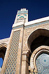 North Africa, Morocco, Casablanca. Hassan II Mosque