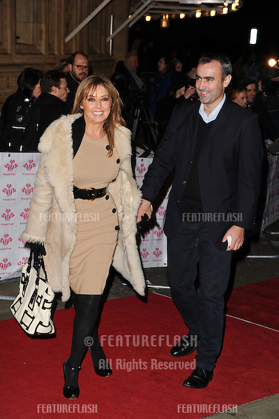 Carol Vorderman and boyfriend arriving for the Prince's Trust Comedy Gala at the Royal Albert Hall, London. 28/11/2012 Picture by: Steve Vas / Featureflash