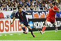 Shinji Okazaki (JPN), Jaber Al Owaisi (OMA),.JUNE 3, 2012 - Football / Soccer :.2014 FIFA World Cup Asian Qualifiers Final round Group B match between Japan 3-0 Oman at Saitama Stadium 2002 in Saitama, Japan. (Photo by Takamoto Tokuhara/AFLO)