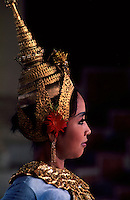 Images from the Book Journey Through Colour and Time, a traditional APSARA dancer in he Grand palace performing at the Royal performance Hall in Phnom Penh,Cambodia