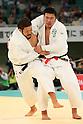 (L to R) Kazuhiko Takahashi (JPN), Ryuta Ishii (JPN), April 29, 2012 - Judo: 2012 All Japan Judo Championships, Quarterfinal at Nihon Budokan, Tokyo, Japan. (Photo by Daiju Kitamura/AFLO SPORT) [1045]