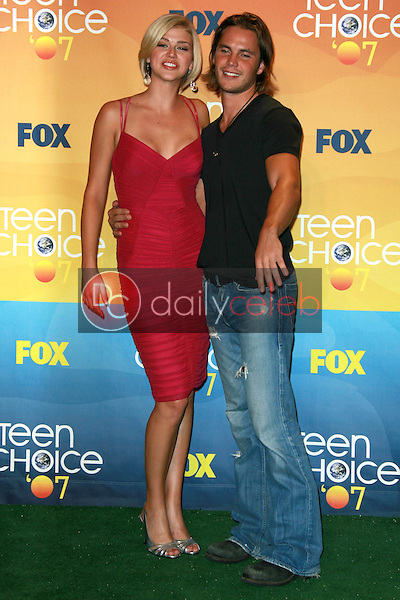 Adrianne Palicki and Taylor Kitsch<br />