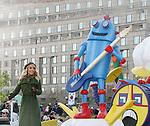 11-22-12 93rd Philadelphia Thanksgiving Day Parade - Kristen Alderson - Charlie McDaniel - Sam Champ