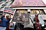 USA - NEW YORK - Protest agains not buy Fur on Black Friday