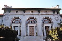 Berkeley CA: Hearst Mining Building, U. of CA, 1907. John Galen Howard.  Photo '84.