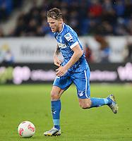 FUSSBALL   1. BUNDESLIGA   SAISON 2012/2013   20. SPIELTAG    TSG 1899 Hoffenheim - SC Freiburg      02.02.2013 Eugen Polanski (TSG 1899 Hoffenheim) am Ball