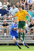 Mark Bloom (#21 stl)...AC St Louis and NSC Minnesota Stars played to a 2-2 tie at Anheuser-Busch Soccer Park, Fenton, Missouri.