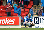 St Johnstone v Partick Thistle....17.10.15  SPFL     McDiarmid Park, Perth<br /> A gutted Brian Easton at full time<br /> Picture by Graeme Hart.<br /> Copyright Perthshire Picture Agency<br /> Tel: 01738 623350  Mobile: 07990 594431