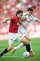 Matthew Spiranovic (Reds),Rodrigo Pimpao (Cerezo), MAY 15th, 2011 - Football : 2011 J.League Division 1 match between Urawa Red Diamonds 1-1 Cerezo Osaka at Saitama Stadium 2002 in Saitama, Japan. (Photo by AFLO).