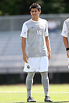 31 August 2014: Loyola-Marymount's Adrien Perez. The Elon University Phoenix played the Loyola Marymount University Lions at Koskinen Stadium in Durham, North Carolina in a 2014 NCAA Division I Men's Soccer match. Elon won the game 1-0.