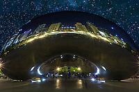 The Chicago Bean in Millennium Park