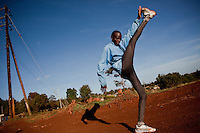 Emmanuel Kipkoech Biwott, 24, a Kenyan athlete, is hoping to break into international competitions where he can earn tens of thousands of dollars in prize money and appearance fees. But such races are being hit by the economic crisis which is cutting crucial sponsorship, meaning Mr Biwott may lose out on his chance to earn a living from running