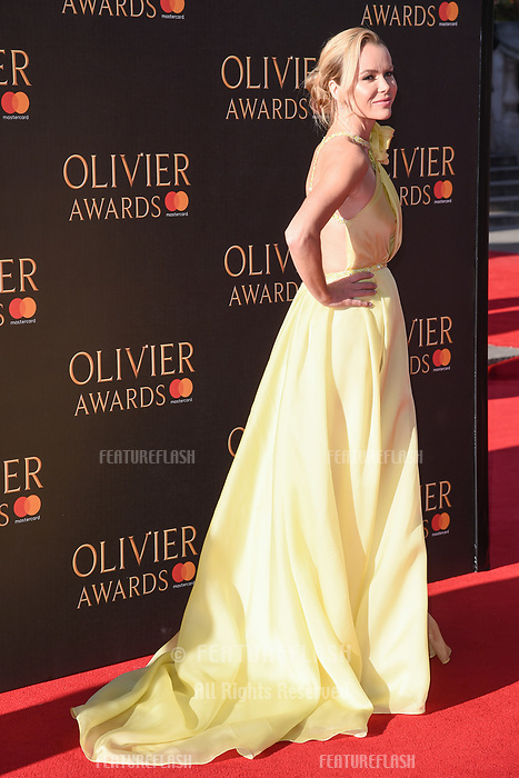 Amanda Holden at The Olivier Awards 2017 at the Royal Albert Hall, London, UK. <br /> 09 April  2017<br /> Picture: Steve Vas/Featureflash/SilverHub 0208 004 5359 sales@silverhubmedia.com