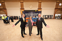 Pictured at the new Nottingham Train Station Concourse from left are David Horne, Managing Director of East Midlands Trains,Coun Jane Urquhart, Portfolio Holder for Transport and Planning at Nottingham City Council and Justin Page, Area Director for Network Rail