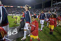 Carson, Ca-January 22, 2010: Mixx Diskerud of the USA men's national team avoids a tackle during a 1-1 tie with Chile at the Home Depot Center in Carson, California.