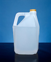 POLYETHYLENE -HIGH DENSITY: ONE GALLON CONTAINERS<br /> Molecular Masses In The Range Of 1,000,000 amu.(water)