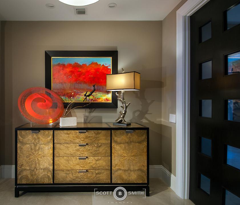 Interior design element for hallway | Scott B. Smith