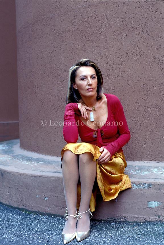 2003: FLAMINIA MOMIGLIANO, WRITER  © Leonardo Cendamo