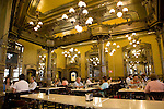 Cafe Iruna, Plaza del Castillo Square, Pamplona, Navarra, Spain