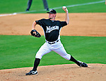 16 March 2009: Florida Marlins' pitcher Dan Meyer on the mound during a Spring Training game against the Washington Nationals at Roger Dean Stadium in Jupiter, Florida. The Nationals defeated the Marlins 3-1 in the Grapefruit League matchup. Mandatory Photo Credit: Ed Wolfstein Photo