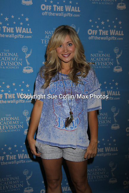 The Young and The Restless Marcy Rylan (5 months pregnant) at the gifting suite at the 38th Annual Daytime Entertainment Emmy Awards 2011 held on June 19, 2011 at the Las Vegas Hilton, Las Vegas, Nevada. (Photo by Sue Coflin/Max Photos)