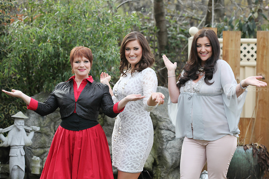 "NO REPRO FEE .34/3/2011. TV3's Midday team weight loss. Three of TV3's 'Midday' team, Mary McEvoy, Jules Fallon and Elaine Crowley have been put through the ringer in the name of looking good. Find out how much fat have lost, how many inches they've trimmed, and how toned, tightened and tweaked our budding Divas have become. Tune into Midday - weekdays from 11:50am on TV3 For over six weeks, three of TV3's Midday team have been put through the ringer in the name of looking good. In their quest to find out what it takes to be a Hollywood Diva, presenter Elaine Crowley, actress Mary McEvoy and model boss Jules Fallon have undertaken ""No Pain, No Gain with Elaine"", where they were subjected to personal trainers, strict dieting, and experimental beauty treatments. They've boxed, pumped iron, run, had bits of themselves hoovered and ironed, and lots of other things too embarrassing to mention! Now, it's the moment of truth - we find out how much fat they've lost, how many inches they've trimmed, and how toned, tightened and tweaked our budding Divas have become. Picture James Horan/Collins Photos"