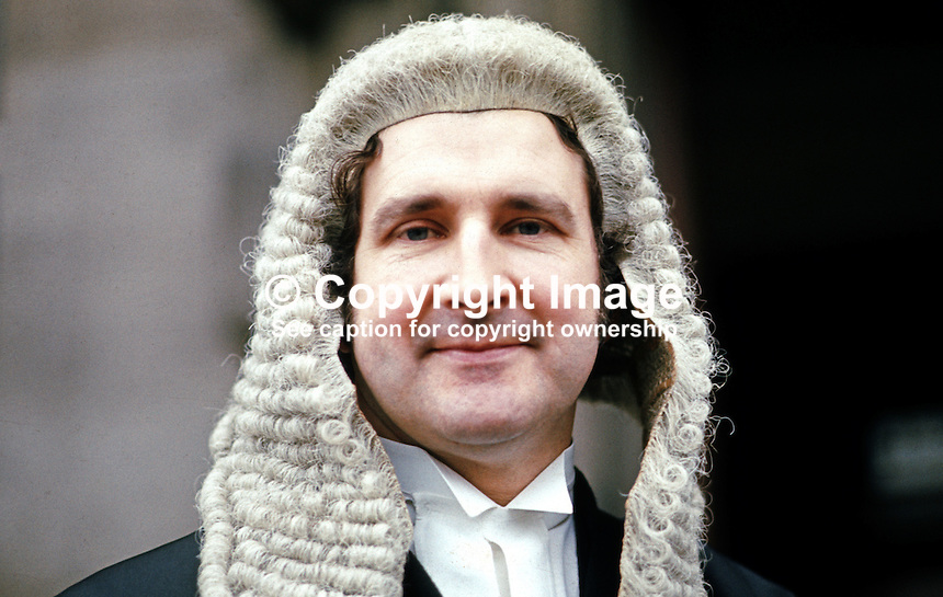 Hugh Paul Kennedy, barrister, N Ireland, 19730100058HPK.<br />