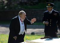 Churchill (2017)  <br /> Churchill (Brian Cox) meets with Eisenhower (John Slattery), Brooke (Danny Webb) and Montgomery (Julian Wadham). The King arrives, Churchill thinks the D-Day plan is madness.<br /> *Filmstill - Editorial Use Only*<br /> CAP/KFS<br /> Image supplied by Capital Pictures