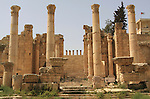 Artemisa temple in Jerash