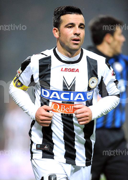 FUSSBALL INTERNATIONAL   SERIE A   SAISON 2011/2012    Inter Mailand - Udinese Calcio   03.12.2011 Antonio Di Natale (Udinese Calcio)