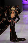 Sharie Manon Attends Couture Fashion Week Fall 2013 Collections- Lourdes Atencio Runway Show, The New Yorker Grand Ballroom, NY 2/17/13