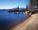 Lake Tahoe Landscape Beach