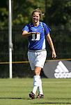 Duke's Darby Kroyer on Sunday, October 1st, 2006 at Koskinen Stadium in Durham, North Carolina. The Duke Blue Devils defeated the North Carolina State University Wolfpack 3-0 in an Atlantic Coast Conference NCAA Division I Women's Soccer game.