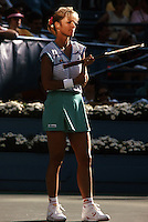 Chris Evert (USA)<br /> U.S. Open 1989<br /> Stadium Court<br />  Chris Evert (USA)<br /> &copy;COPYRIGHT MICHAEL COLE