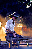 Stockman/Cowboy in the Outback of Australia