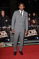 LONDON, ENGLAND. October 6, 2016: Mahershala Ali at the London Film Festival premiere for &quot;Moonlight&quot; at the Embankment Gardens Cinema, London.<br /> Picture: Steve Vas/Featureflash/SilverHub 0208 004 5359/ 07711 972644 Editors@silverhubmedia.com